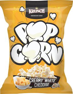 POPCORN 3D WHITE CHEDDAR